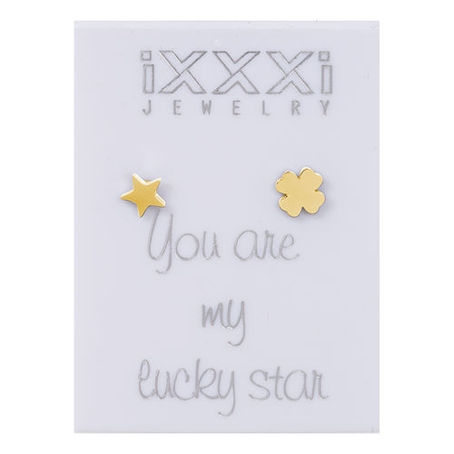 Oorknopjes Goud You are my lucky star