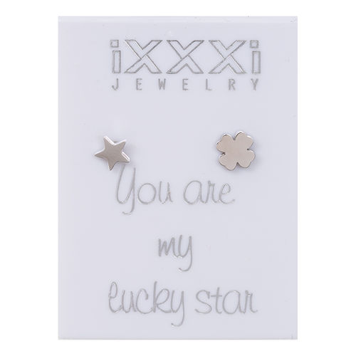 Oorknopjes Zilver You are my lucky star