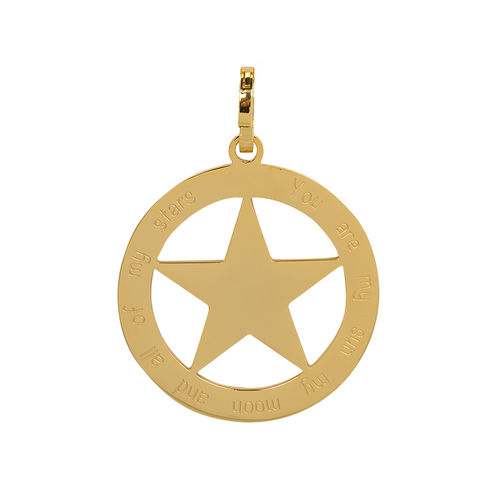 "iXXXi Hanger Ster ""You are my sun my moon and all of my stars"" Goud"