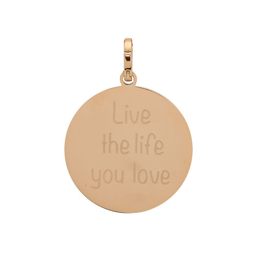 "iXXXi Hanger ""Live the life you love"" Rosé"