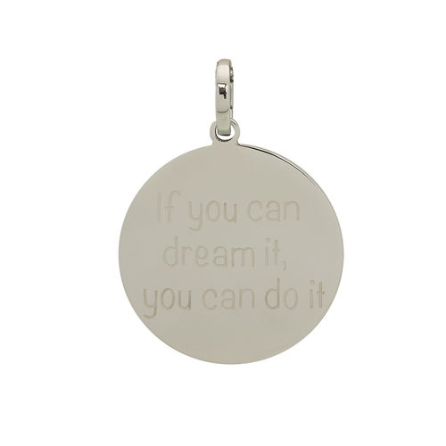 "iXXXi Hanger ""If you can dream it, ypu can do it"" Zilver"