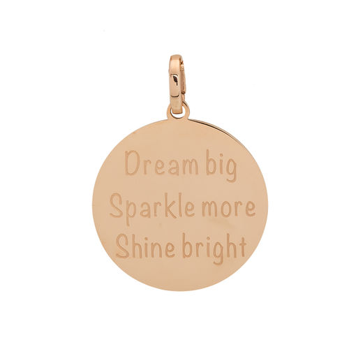 "iXXXi Hanger ""Dream big, Sparkle more, Shine bright"" Rosé"