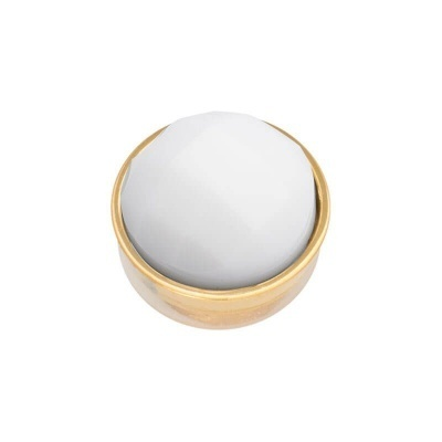 Top Part Facet White Goud