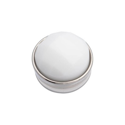Top Part Facet White Zilver